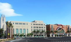 The Smith Center for the Performing Arts located in Downtown Las Vegas.