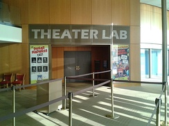 Entrance to the Theater Lab