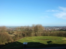 View from Stafford Castle