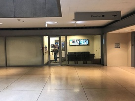 The main entrance to the studios of WFLD & WPWR on the ground floor of Michigan Plaza.