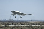 June 2: The Northrop Grumman X–47B unmanned combat air vehicle (UCAV)
