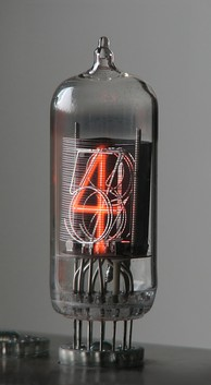 The stacked digit arrangement in a Nixie tube is visible in this (stripped) ZM1210.
