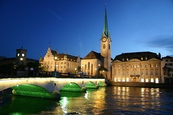 Zürich at night