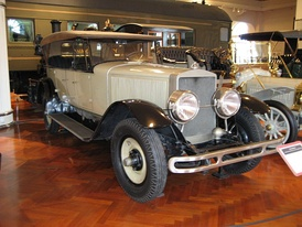 1924 Doble Model E steam car