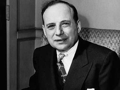 Investor Benjamin Graham was influential on young Buffett