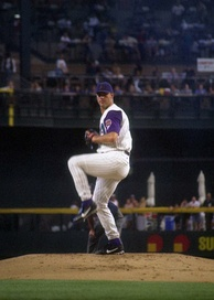 Andy Benes, the Opening Day starting pitcher in 1993, 1994, and 1995