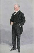 Railway promoter Archer Baker by Luke Fildes in the 13 January 1910 issue