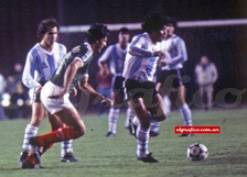 Mexico v Argentina in Los Angeles, 1985