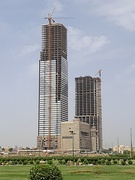 At a height of 300 metres (980 ft), Bahria Icon Tower is the tallest skyscraper in Pakistan and second tallest in South Asia.