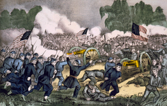 July 1–3: Union victory at Gettysburg