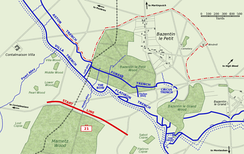 The British 21st Division attack on Bazentin le Petit, 14 July 1916.