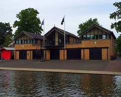 Queens' College Boat House