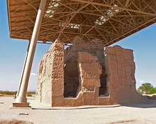 The Great House at the Casa Grande Ruins National Monument