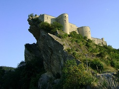 The King of Strongcliff's castle (Castle of Roccascalegna)