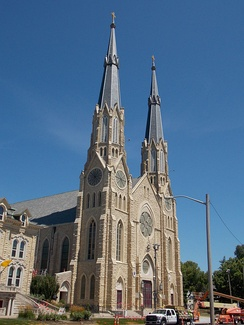 Cathedral of Saint Mary of the Immaculate Conception is the cathedral of the Roman Catholic Diocese of Peoria