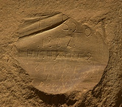 Early Graffiti, Chaco Culture National Historic Park, NM