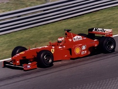 Eddie Irvine posted his only career fastest lap in this race.