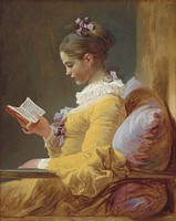 A Young Girl Reading, c. 1776, National Gallery of Art, Washington, DC.