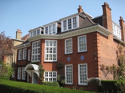 Freud's last home, now dedicated to his life and work as the Freud Museum, 20 Maresfield Gardens, Hampstead, London NW3, England.