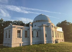 The Fuertes Observatory on Cornell's North Campus is open to the public every Friday night