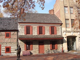 The General Gates House in York, Pennsylvania where a key meeting of the cabal was reportedly held