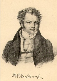 Heinrich Marschner, lithograph after a drawing by F. A. Jung, c. 1830