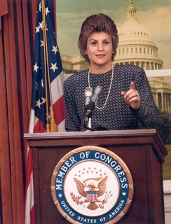 Ileana Ros-Lehtinen speaks in 1989 after her successful election.