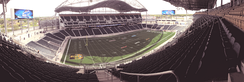 Panoramic view of IG Field