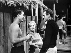 Robertson, Jane Powell, and Keith Andes in the 1958 film, The Girl Most Likely