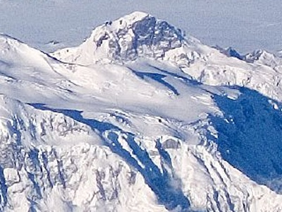 King Peak in Yukon is the fourth highest summit of Canada.