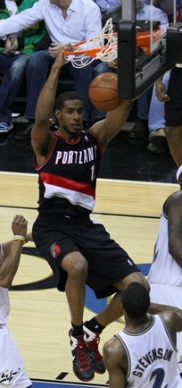 LaMarcus Aldridge played the first nine years of his pro career in Portland.