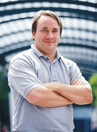 Linus Torvalds, the software engineer best known for creating the popular open-source kernel Linux