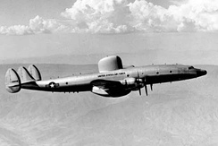 The first USAF RC-121C, 1955.