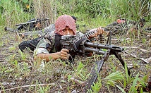 Moro Islamic Liberation Front fighter in the Philippines