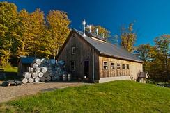 Кленоварня в штате Вермонт