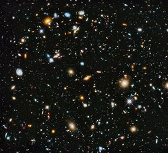 Pantheists believe that the universe itself and everything in it forms a single, all-encompassing deity.[39][40]