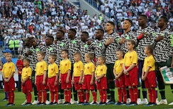 Nigeria at the 2018 FIFA World Cup