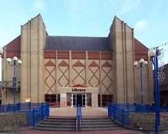 North Lincolnshire Central Library