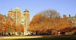 Quadrangle at the University of Pennsylvania, one of the highest ranked universities in the world
