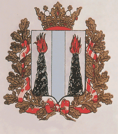Coat of arms of Primorskaya Oblast in the beginning of the 20th century