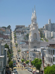 Sts. Peter and Paul Church in North Beach, San Francisco.