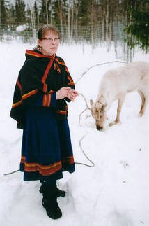 Sami woman from Sweden
