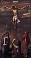 The Crucifixion of Christ, 1558, by Titian.