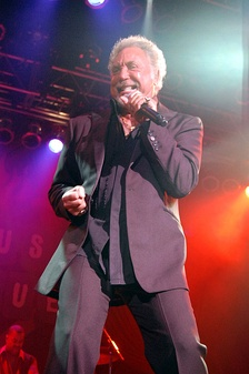 Jones at House of Blues, Anaheim, 2009