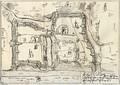 Чертёж Витебска 1664г.