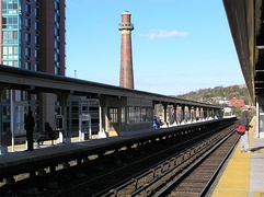 The Yonkers Metro-North Station
