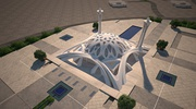 A sample of modern Islamic architecture - The mosque of international conferences center in Isfahan, Iran