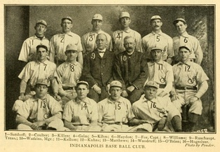 The Indianapolis Indians won the first American Association championship (1902).