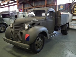 1940 Fargo-badged truck at the Australian Army History Unit museum.