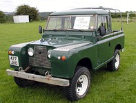 1963 Land RoverSeries IIA pickup-type